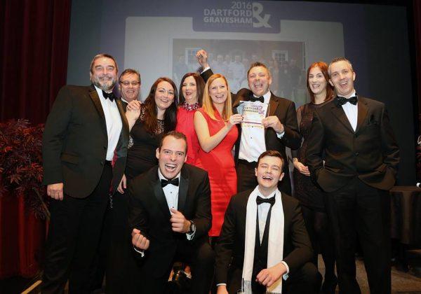 Astro Communications Dartford & Gravesham Business Awards Overall Winners 2016