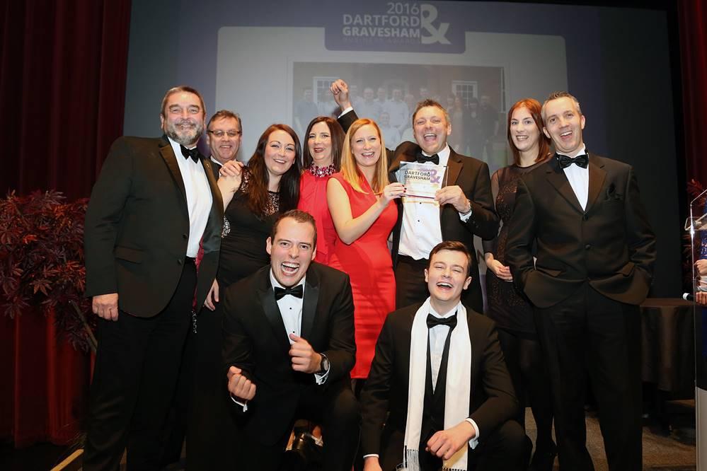 Dartford & Gravesham Business Awards 2016 Overall Winner Astro Communications