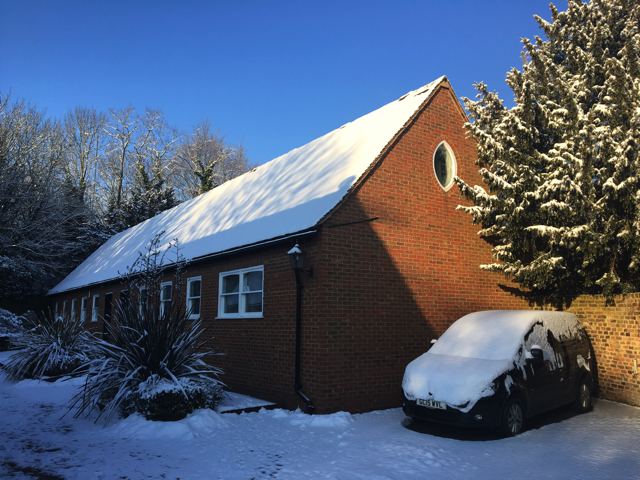 Beast from the East Astro Office